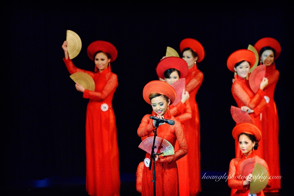 Hoa Hậu Áo Dài Bắc Cali 2015 - Pageant Day pictures by Hoang Le - Image 137
