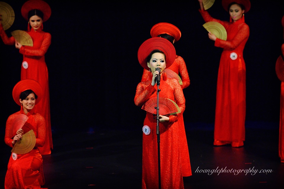 Hoa Hậu Áo Dài Bắc Cali 2015 - Pageant Day pictures by Hoang Le - Image 138