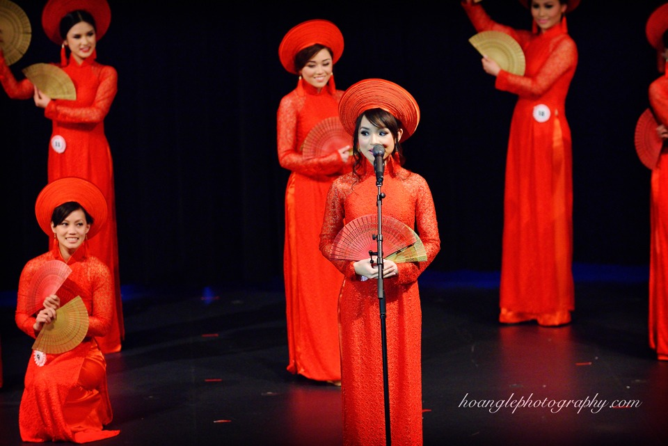 Hoa Hậu Áo Dài Bắc Cali 2015 - Pageant Day pictures by Hoang Le - Image 139