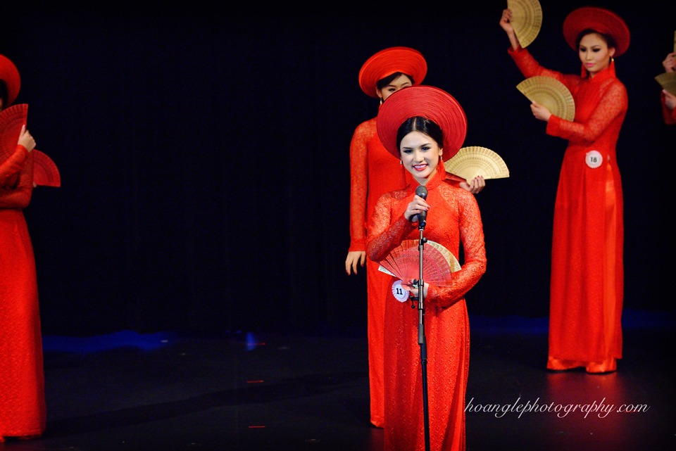 Hoa Hậu Áo Dài Bắc Cali 2015 - Pageant Day pictures by Hoang Le - Image 140