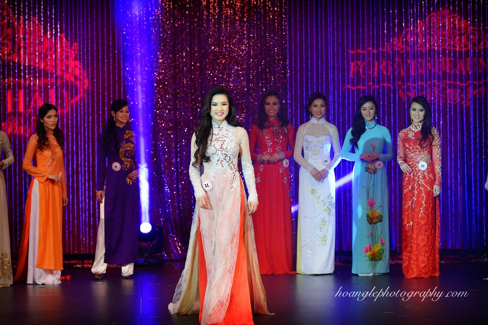 Hoa Hậu Áo Dài Bắc Cali 2015 - Pageant Day pictures by Hoang Le - Image 216