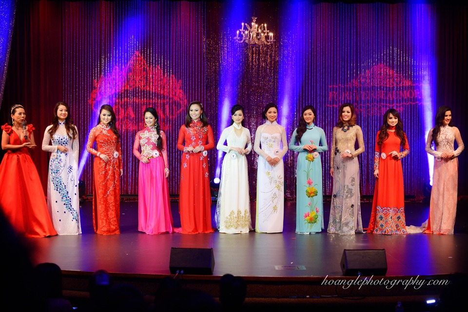 Hoa Hậu Áo Dài Bắc Cali 2015 - Pageant Day pictures by Hoang Le - Image 217