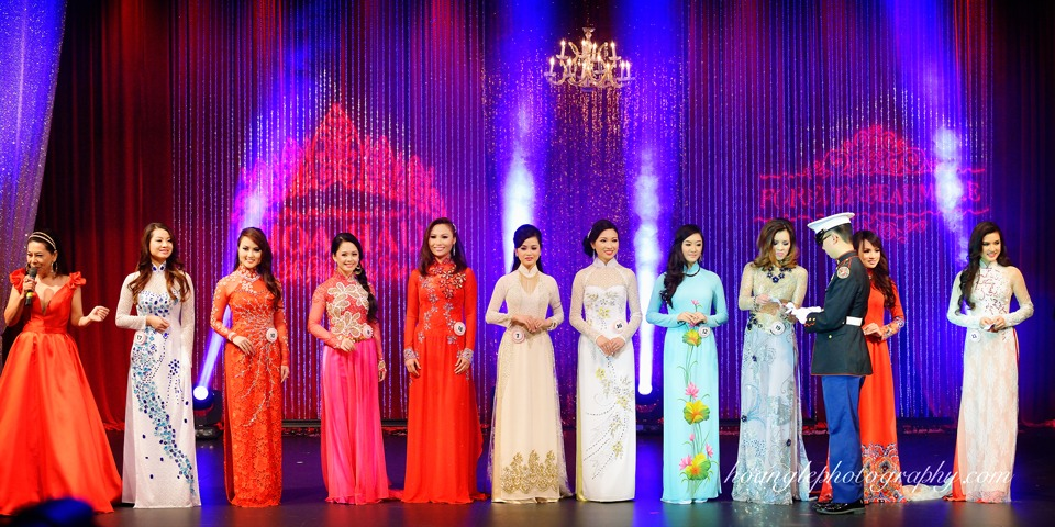 Hoa Hậu Áo Dài Bắc Cali 2015 - Pageant Day pictures by Hoang Le - Image 218