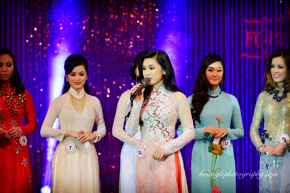 Hoa Hậu Áo Dài Bắc Cali 2015 - Pageant Day pictures by Hoang Le - Image 219