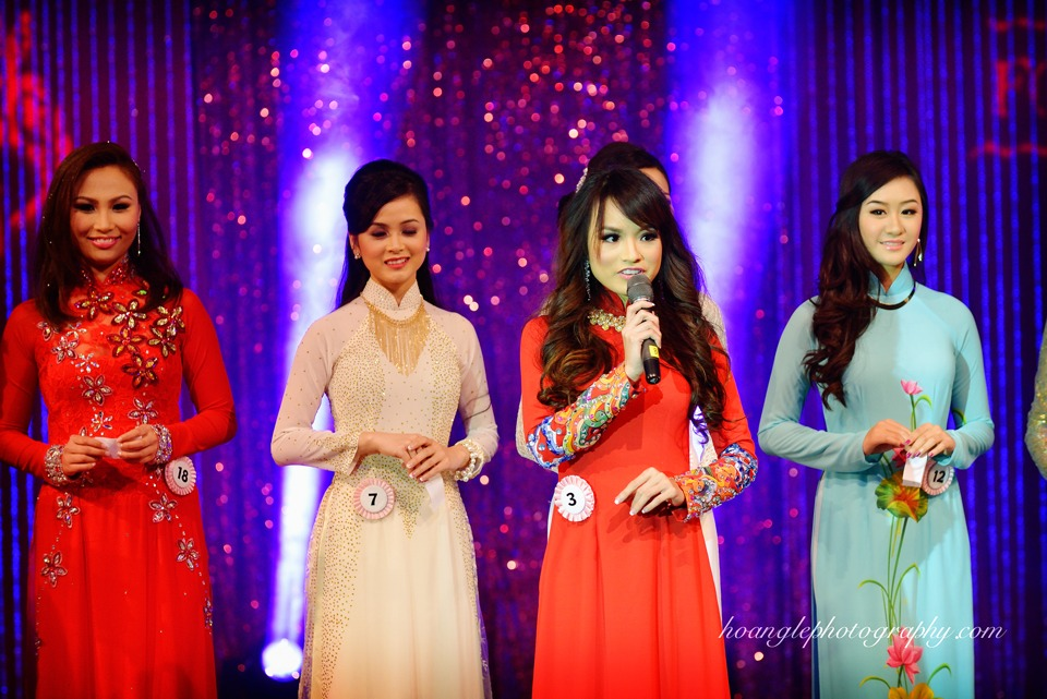 Hoa Hậu Áo Dài Bắc Cali 2015 - Pageant Day pictures by Hoang Le - Image 221
