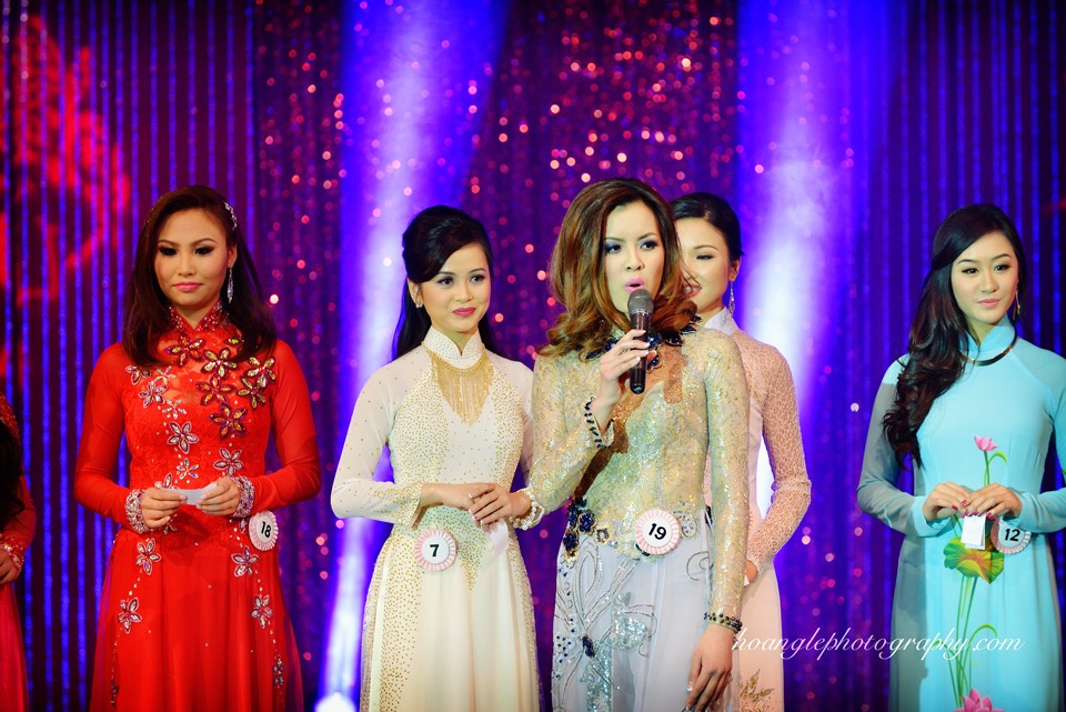 Hoa Hậu Áo Dài Bắc Cali 2015 - Pageant Day pictures by Hoang Le - Image 223