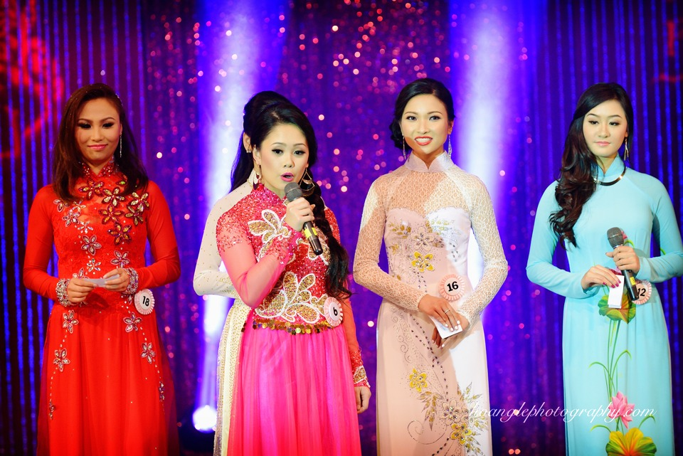 Hoa Hậu Áo Dài Bắc Cali 2015 - Pageant Day pictures by Hoang Le - Image 224
