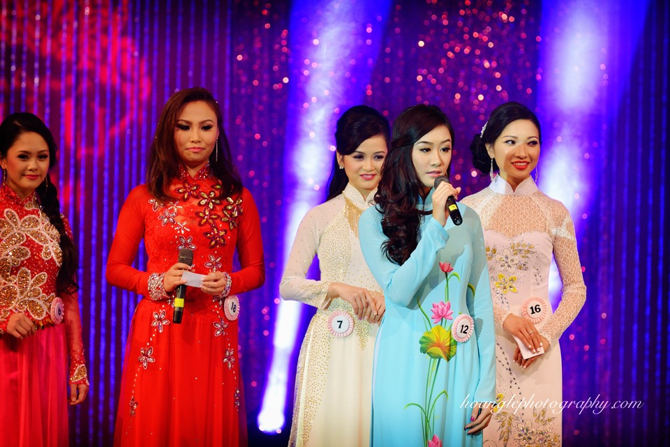 Hoa Hậu Áo Dài Bắc Cali 2015 - Pageant Day pictures by Hoang Le - Image 225