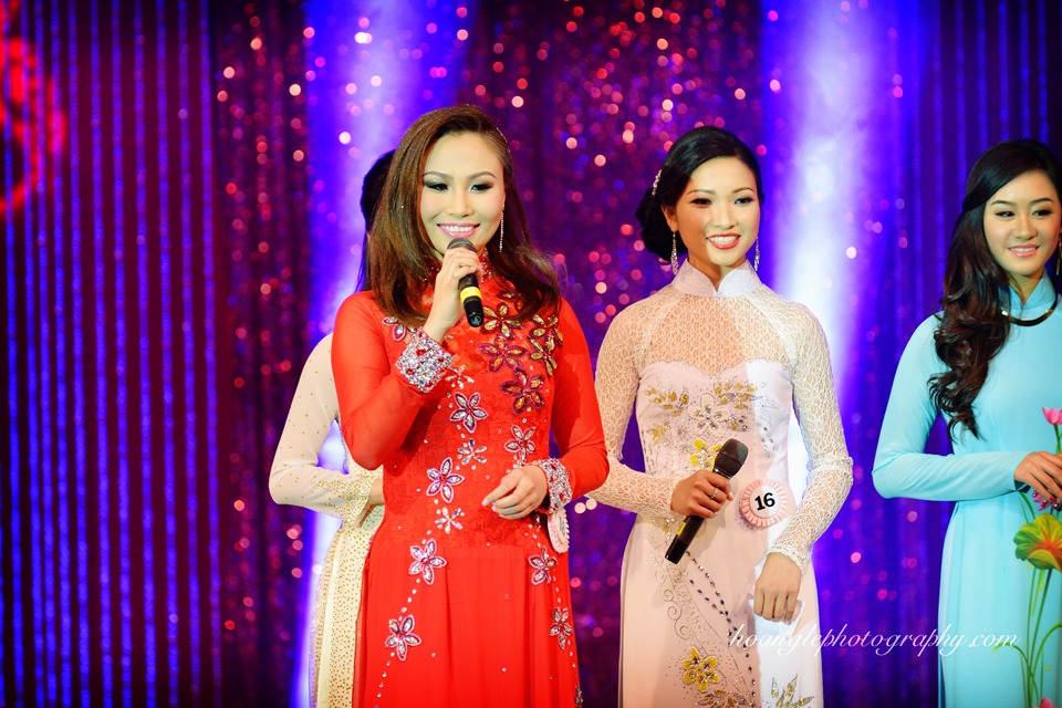 Hoa Hậu Áo Dài Bắc Cali 2015 - Pageant Day pictures by Hoang Le - Image 226