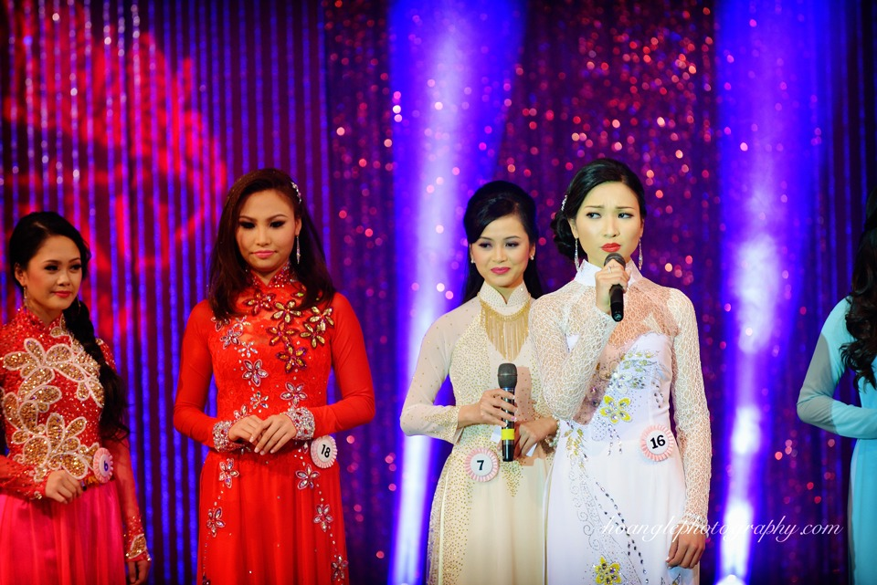 Hoa Hậu Áo Dài Bắc Cali 2015 - Pageant Day pictures by Hoang Le - Image 227