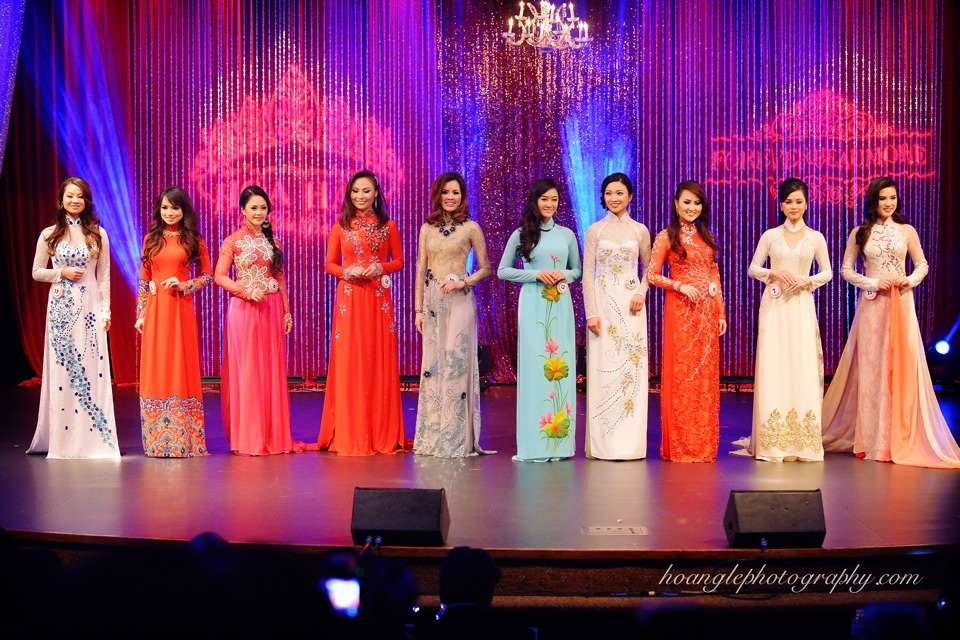 Hoa Hậu Áo Dài Bắc Cali 2015 - Pageant Day pictures by Hoang Le - Image 234