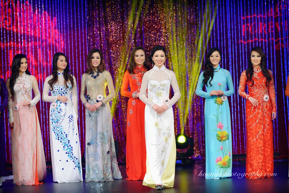 Hoa Hậu Áo Dài Bắc Cali 2015 - Pageant Day pictures by Hoang Le - Image 237