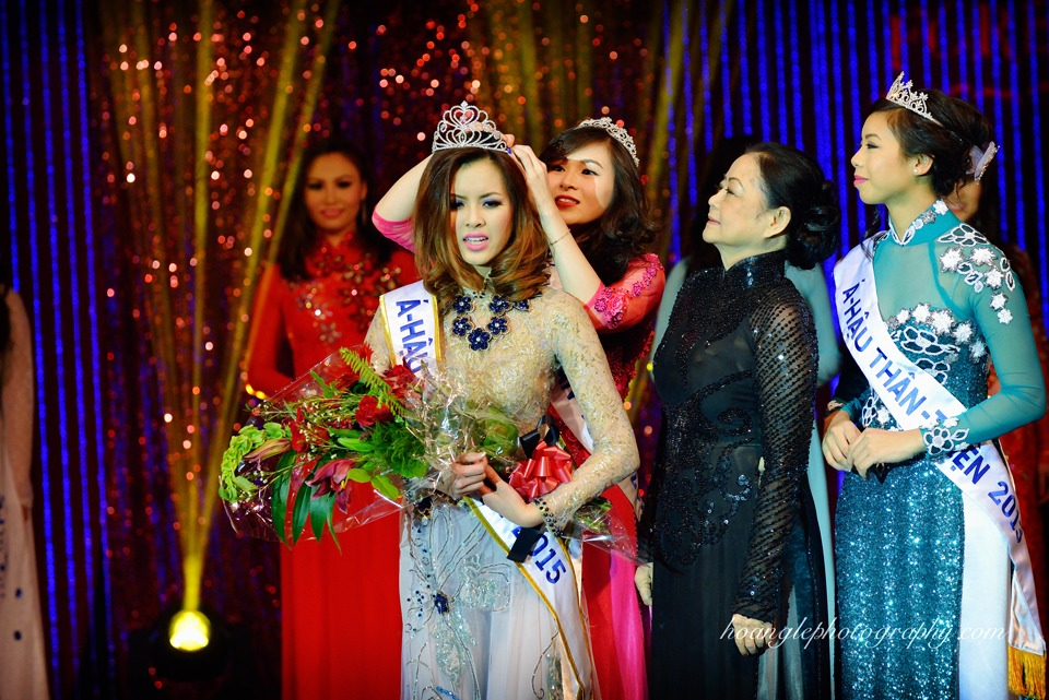 Hoa Hậu Áo Dài Bắc Cali 2015 - Pageant Day pictures by Hoang Le - Image 240