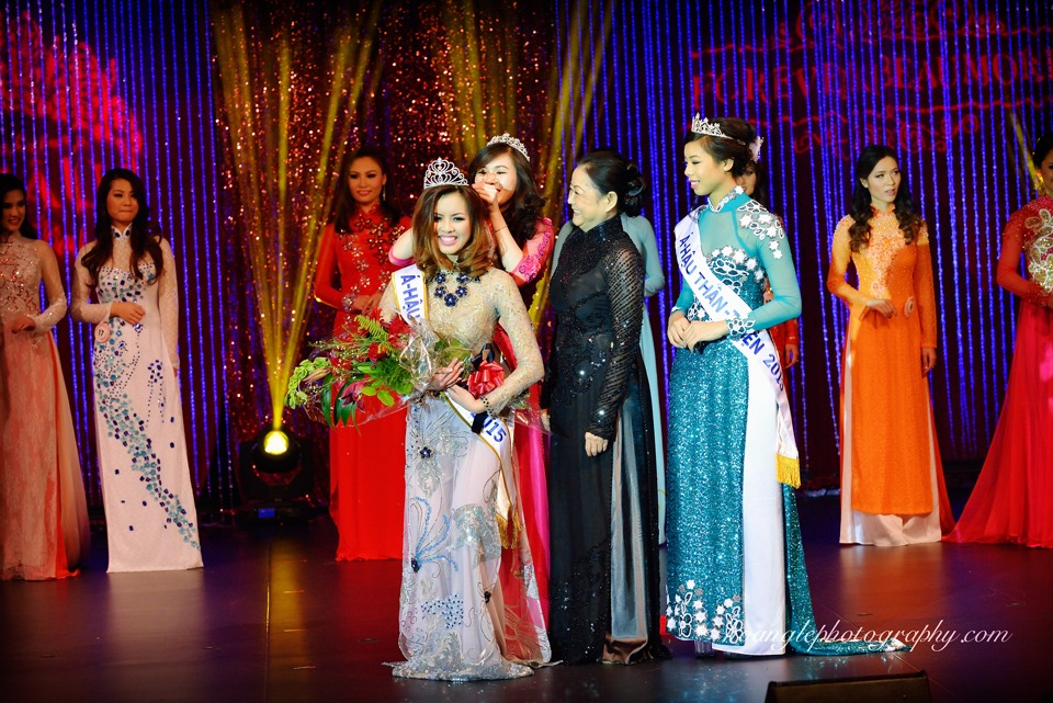 Hoa Hậu Áo Dài Bắc Cali 2015 - Pageant Day pictures by Hoang Le - Image 241