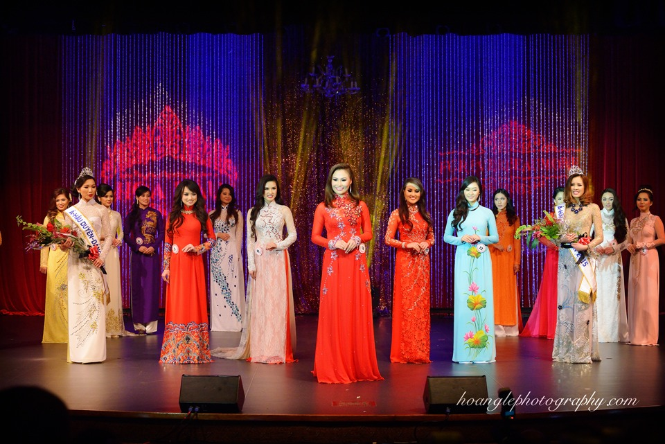 Hoa Hậu Áo Dài Bắc Cali 2015 - Pageant Day pictures by Hoang Le - Image 243