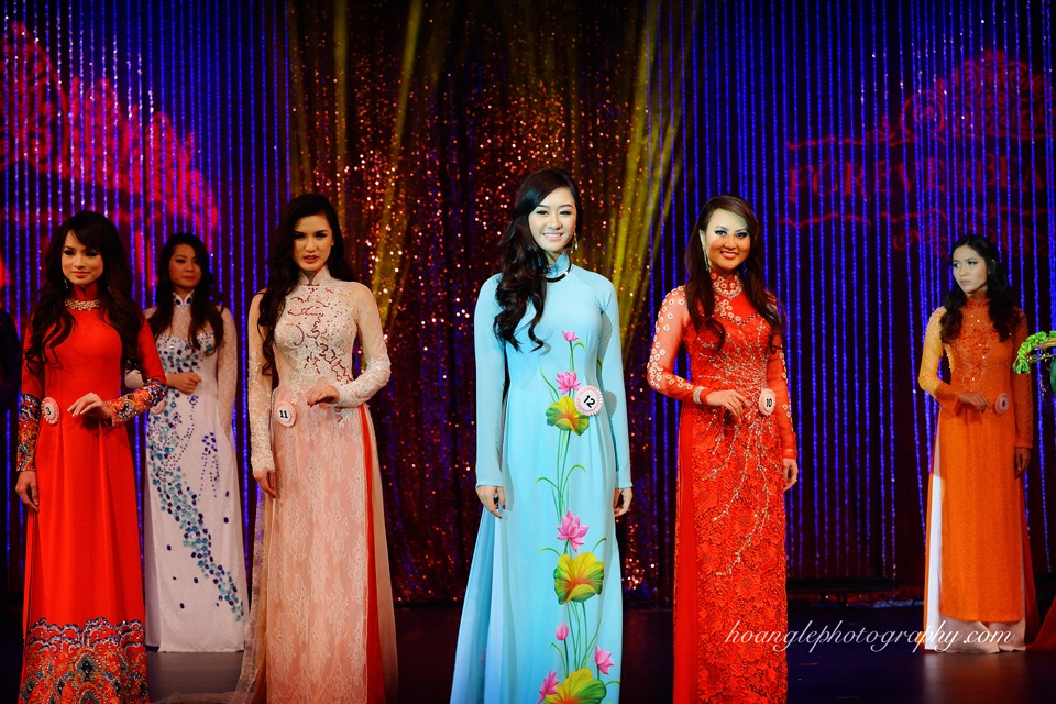 Hoa Hậu Áo Dài Bắc Cali 2015 - Pageant Day pictures by Hoang Le - Image 247