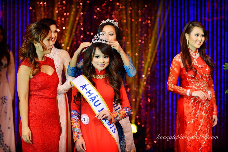 Hoa Hậu Áo Dài Bắc Cali 2015 - Pageant Day pictures by Hoang Le - Image 253