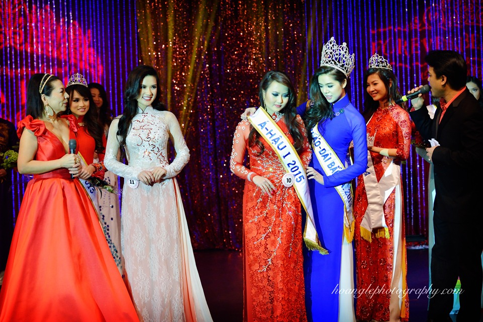 Hoa Hậu Áo Dài Bắc Cali 2015 - Pageant Day pictures by Hoang Le - Image 257