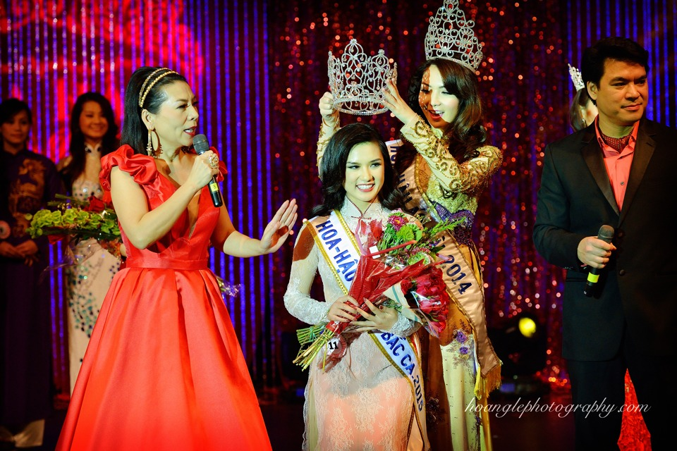 Hoa Hậu Áo Dài Bắc Cali 2015 - Pageant Day pictures by Hoang Le - Image 266