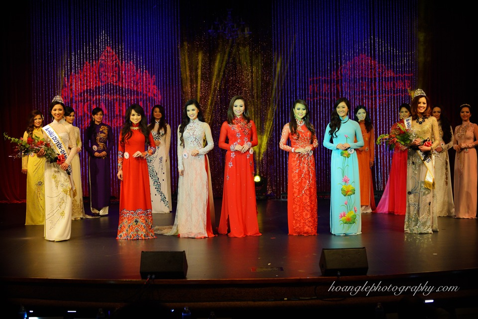 Hoa Hậu Áo Dài Bắc Cali 2015 - Pageant Day pictures by Hoang Le - Image 270