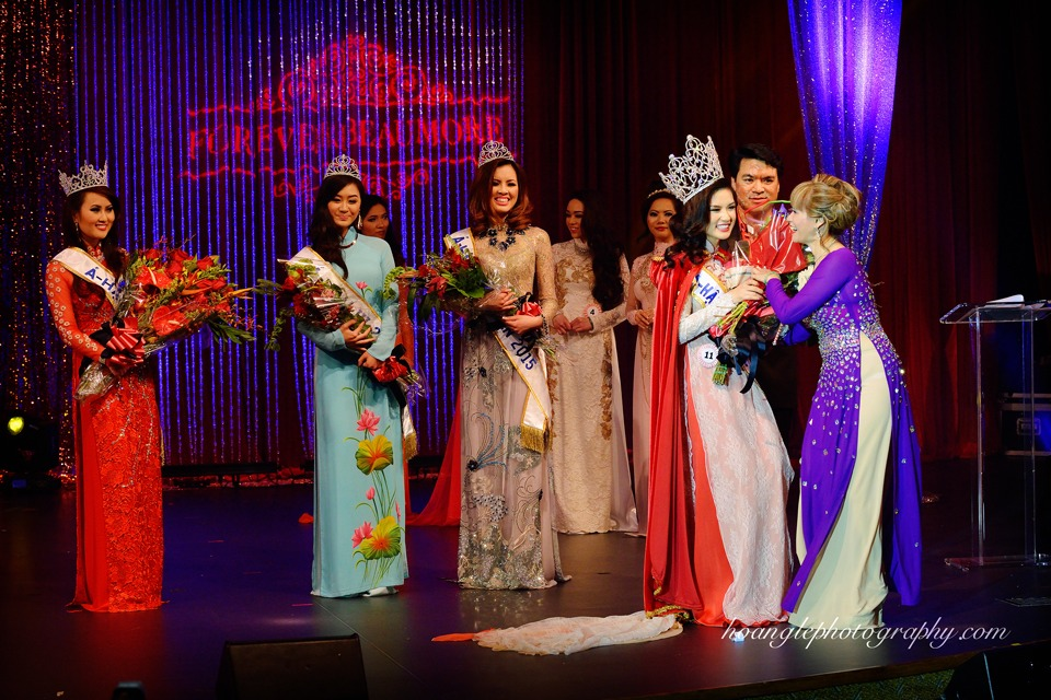 Hoa Hậu Áo Dài Bắc Cali 2015 - Pageant Day pictures by Hoang Le - Image 276
