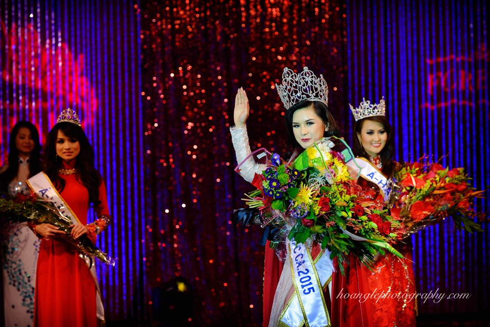 Hoa Hậu Áo Dài Bắc Cali 2015 - Pageant Day pictures by Hoang Le - Image 277