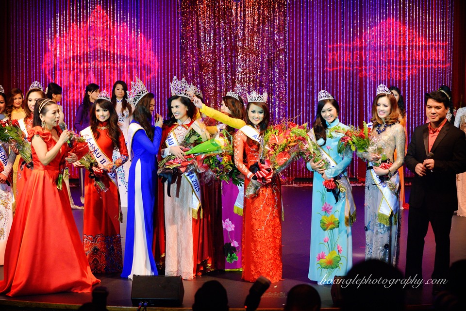Hoa Hậu Áo Dài Bắc Cali 2015 - Pageant Day pictures by Hoang Le - Image 279