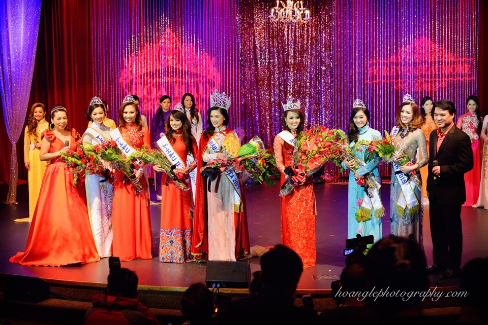 Hoa Hậu Áo Dài Bắc Cali 2015 - Pageant Day pictures by Hoang Le - Image 280
