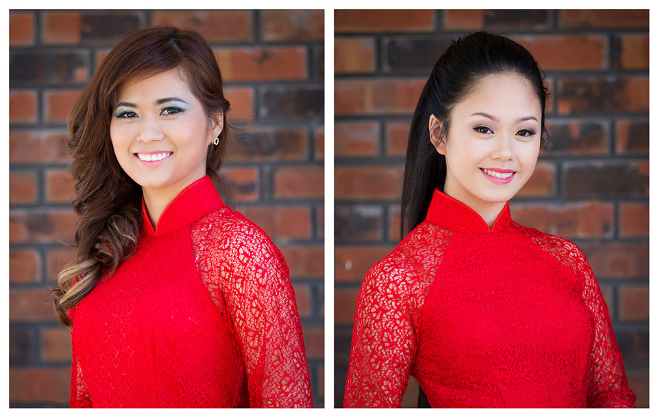 Red Áo Dài - Miss Vietnam of Northern CA 2015 - Image 003