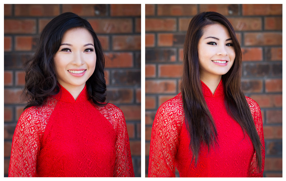 Red Áo Dài - Miss Vietnam of Northern CA 2015 - Image 007