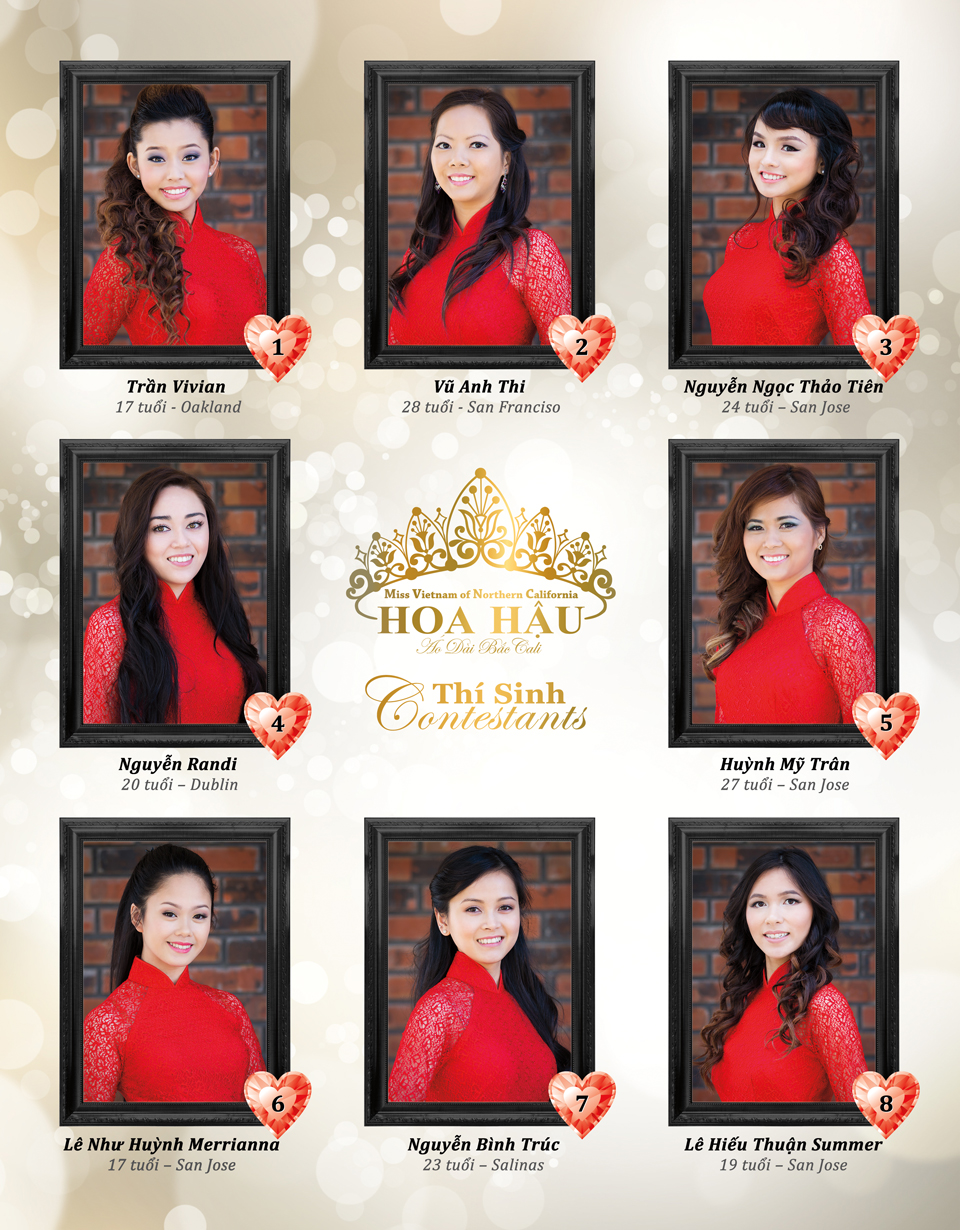 Red Áo Dài - Miss Vietnam of Northern CA 2015 - Page 1