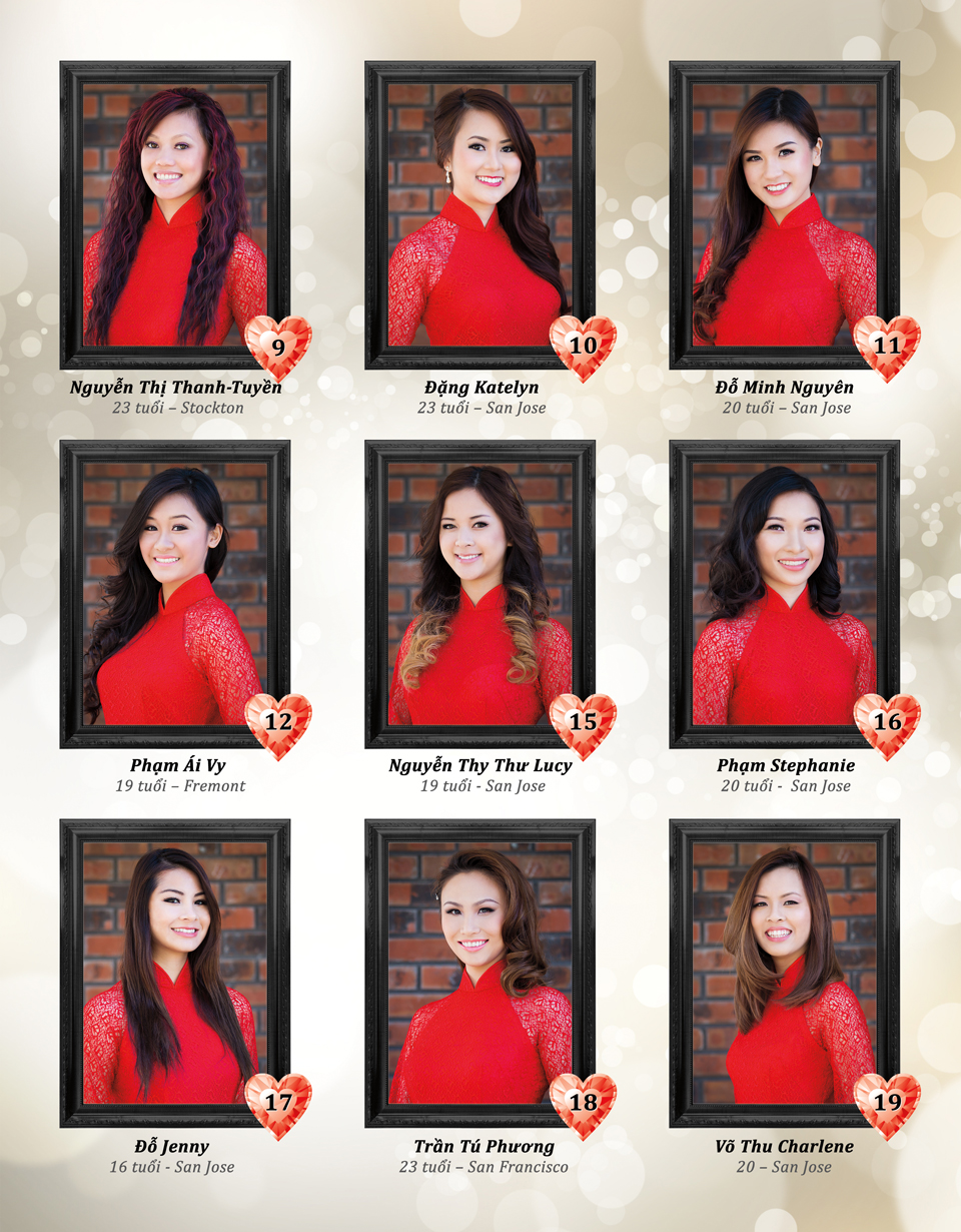 Red Áo Dài - Miss Vietnam of Northern CA 2015 - Page 2