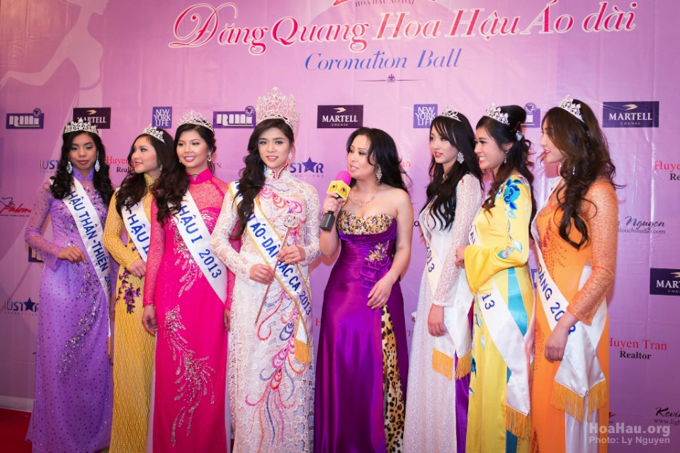 Coronation 2013 - Hoa Hau Ao Dai Bac Cali - Miss Vietnam - Image 017