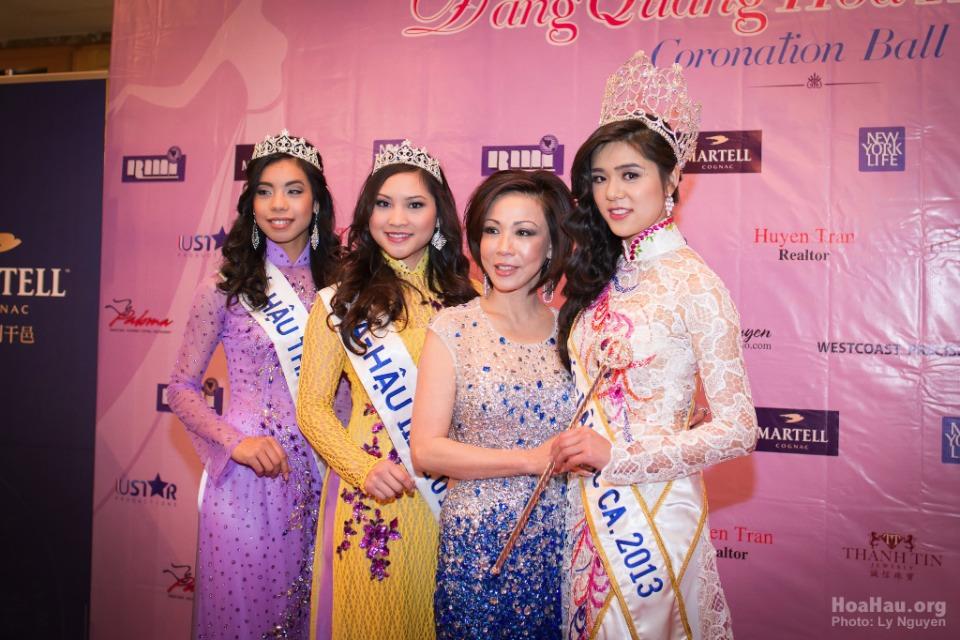 Coronation 2013 - Hoa Hau Ao Dai Bac Cali - Miss Vietnam - Image 024