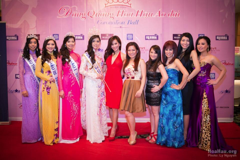 Coronation 2013 - Hoa Hau Ao Dai Bac Cali - Miss Vietnam - Image 025