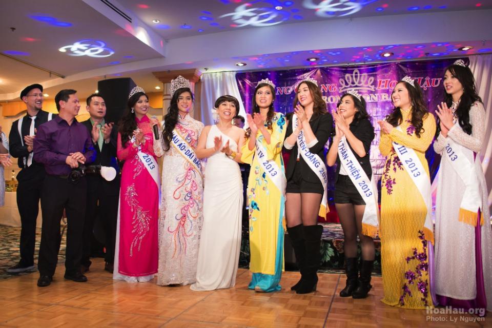 Coronation 2013 - Hoa Hau Ao Dai Bac Cali - Miss Vietnam - Image 056