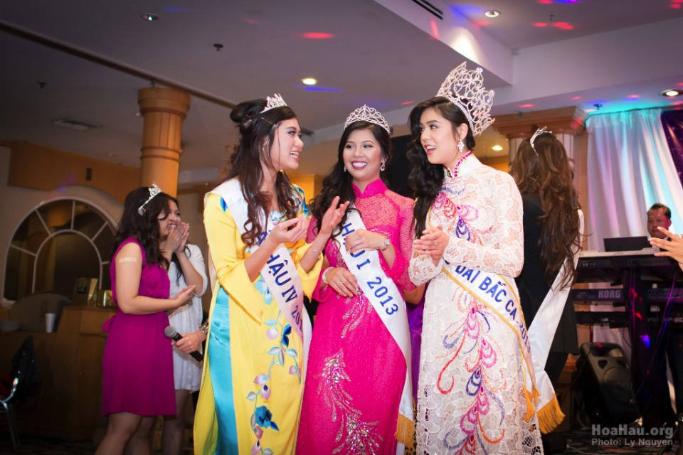 Coronation 2013 - Hoa Hau Ao Dai Bac Cali - Miss Vietnam - Image 058