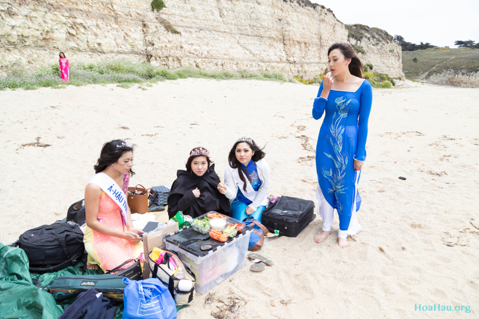 Hoa Hau Ao Dai Annual Beach Photoshoot 2013 - Santa Cruz, CA - Image 011