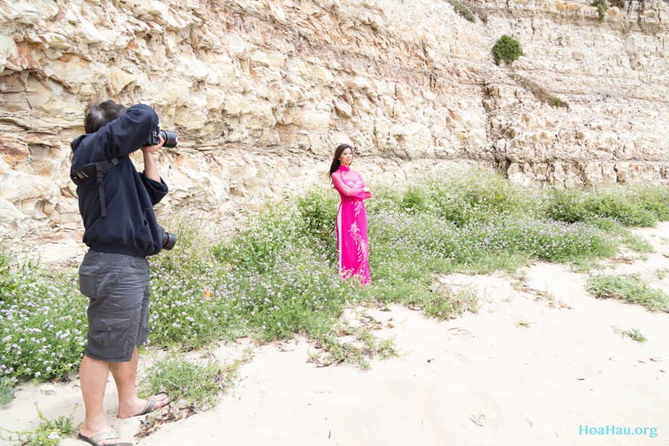 Hoa Hau Ao Dai Annual Beach Photoshoot 2013 - Santa Cruz, CA - Image 013