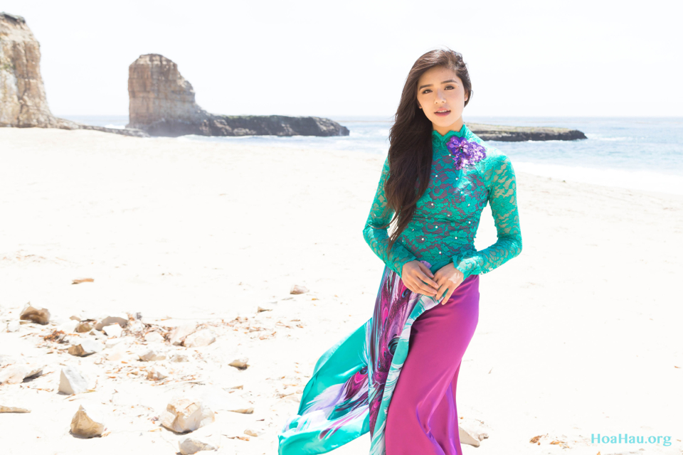 Hoa Hau Ao Dai Annual Beach Photoshoot 2013 - Santa Cruz, CA - Image 018