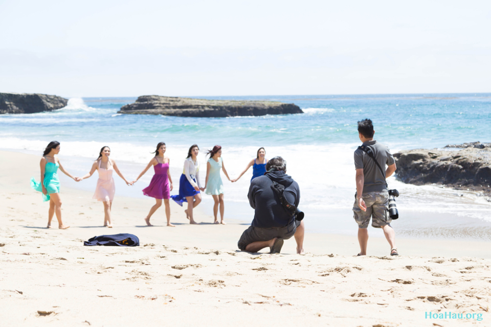 Hoa Hau Ao Dai Annual Beach Photoshoot 2013 - Santa Cruz, CA - Image 023