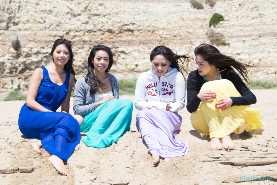 Hoa Hau Ao Dai Annual Beach Photoshoot 2013 - Santa Cruz, CA - Image 048