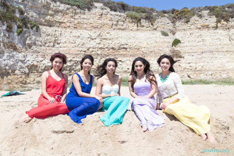 Hoa Hau Ao Dai Annual Beach Photoshoot 2013 - Santa Cruz, CA - Image 049