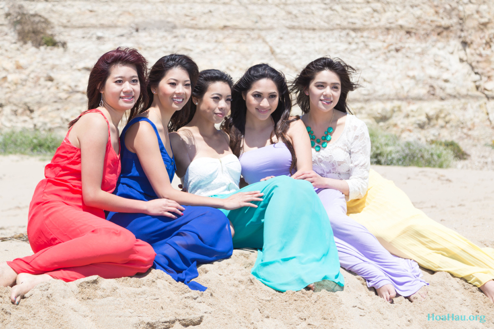 Hoa Hau Ao Dai Annual Beach Photoshoot 2013 - Santa Cruz, CA - Image 050