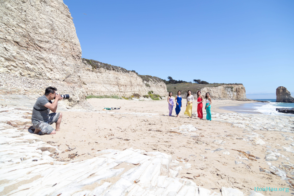 Hoa Hau Ao Dai Annual Beach Photoshoot 2013 - Santa Cruz, CA - Image 053