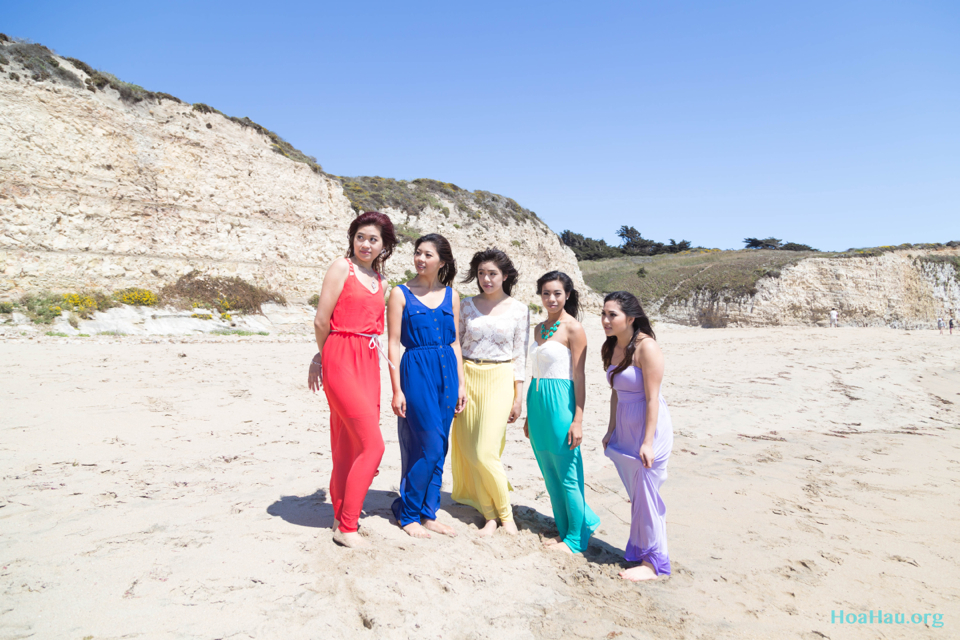 Hoa Hau Ao Dai Annual Beach Photoshoot 2013 - Santa Cruz, CA - Image 060