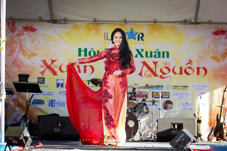 Hoi Hoa Xuân 2015 - Miss Vietnam of Northern California 2015 - Grand Century Mall - San Jose, CA - Image 108