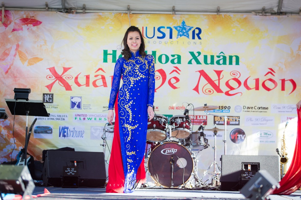 Hoi Hoa Xuân 2015 - Miss Vietnam of Northern California 2015 - Grand Century Mall - San Jose, CA - Image 109