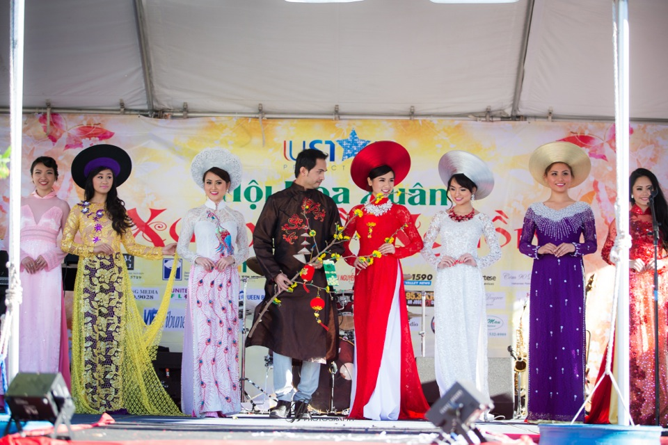 Hoi Hoa Xuân 2015 - Miss Vietnam of Northern California 2015 - Grand Century Mall - San Jose, CA - Image 125