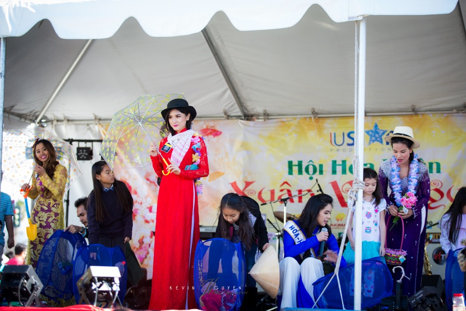 Hoi Hoa Xuân 2015 - Miss Vietnam of Northern California 2015 - Grand Century Mall - San Jose, CA - Image 151